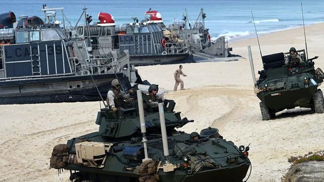 NATO tăng cường tập trận gần biên giới Nga