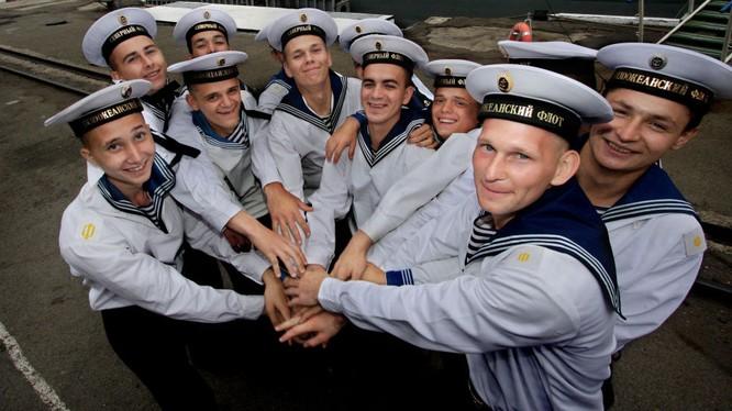 Thủy thủ Nga đang có mặt tại Việt Nam