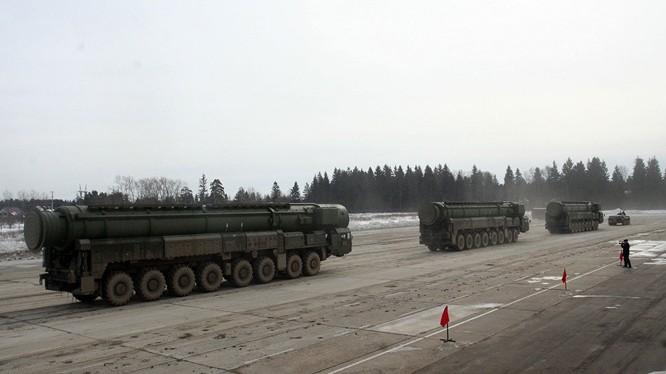 Tên lửa liên lục địa của Nga