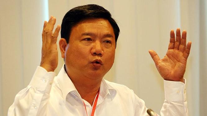 Bộ trưởng Đinh La Thăng - Ảnh: TTO