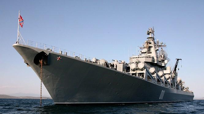 Chiến hạm của hải quân Nga