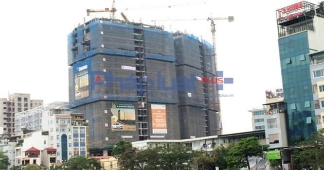 Tòa tháp D'Le Pont D'or – Hoàng Cầu (phường Ô Chợ Dừa, Đống Đa, Hà Nội) được đầu tư bởi Công ty TNHH Thương mại Dịch vụ Khách sạn Tân Hoàng Minh (sau đây gọi là Tập đoàn Tân Hoàng Minh), dự án được giới thiệu là tòa căn hộ cao cấp, văn phòng hạng A, được