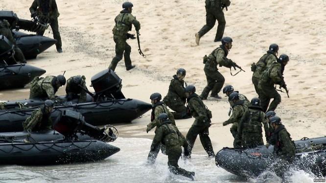 Quân đội Mỹ và Nhật Bản tập trận đổ bộ
