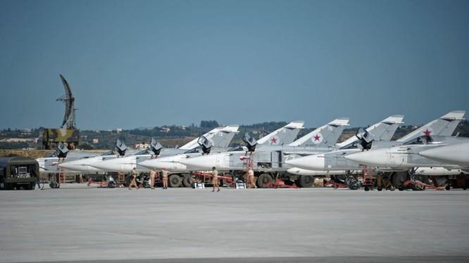 Không quân Nga tham chiến tại Syria
