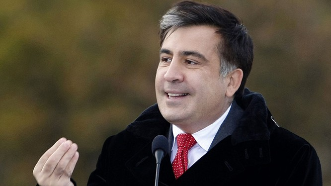 Thống đốc tỉnh Odessa Mikhail Saakashvili