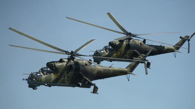 Trực thăng Mi-24 Nga tham chiến tại Syria