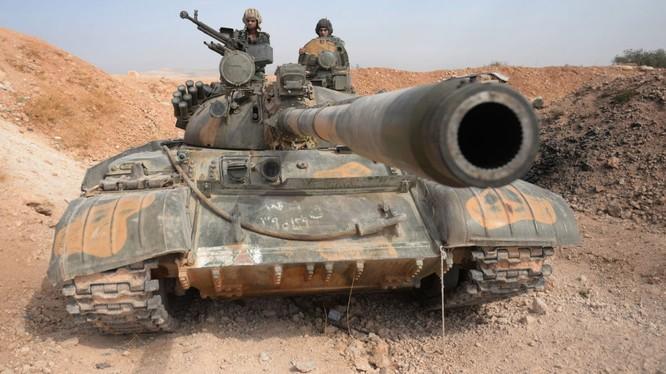 Quân đội Syria đang phản công mạnh mẽ trên các mặt trận