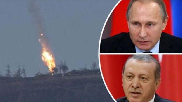 Quan hệ Nga-Thổ hết sức căng thẳng sau vụ bắn hạ Su-24 Nga