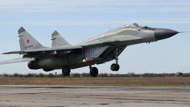 Máy bay tiêm kích Mig-29 của Nga xuất kích