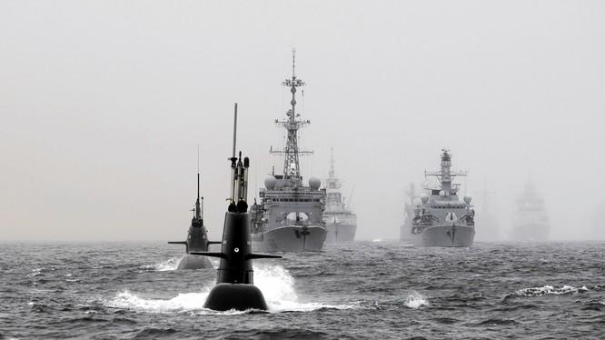 NATO gần đây liên tục tập trận sát biên giới Nga