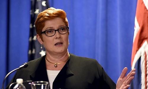Bộ trưởng Quốc phòng Australia Marise Payne. Ảnh: Reuters