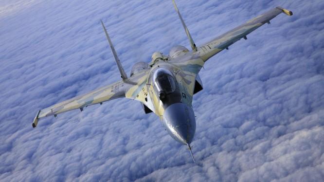 Chiến đấu cơ Su-35 của Nga lần đầu xuất trận tại chiến trường Syria