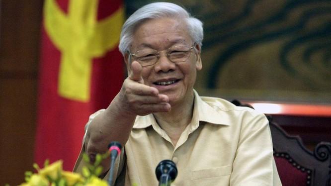 Tống Bí thư Nguyễn Phú Trọng