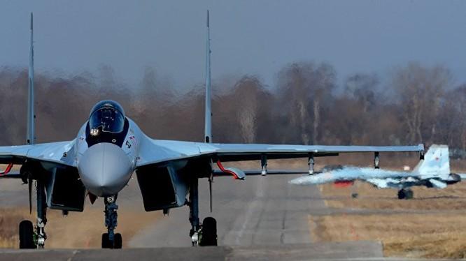 Nga vừa điều tiêm kích Su-35 sang tham chiến tại Syria