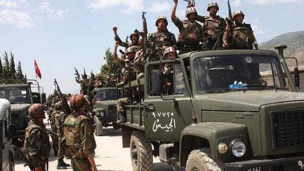 Quân đội chính phủ Syria liên tục giành chiến thắng thời gian gần đây
