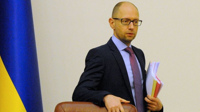 Thủ tướng Ukraine Yatseniuk