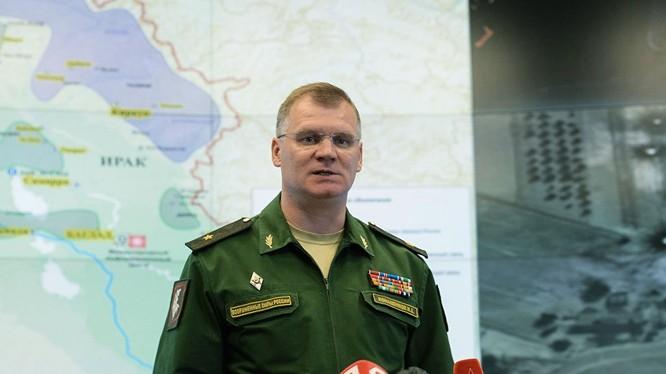 Thiếu tướng Igor Konashenkov