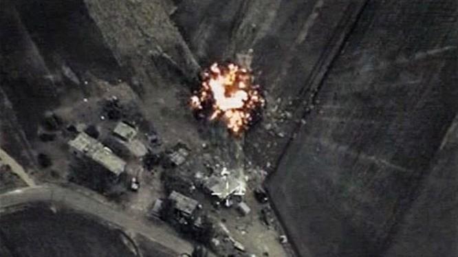 Mục tiêu khủng bố tại Syria bị không quân Nga tiêu diệt
