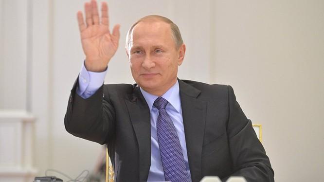 Ông Putin gửi lời chúc mừng nhân dịp Tết Nguyên Đán Bính Thân 2016