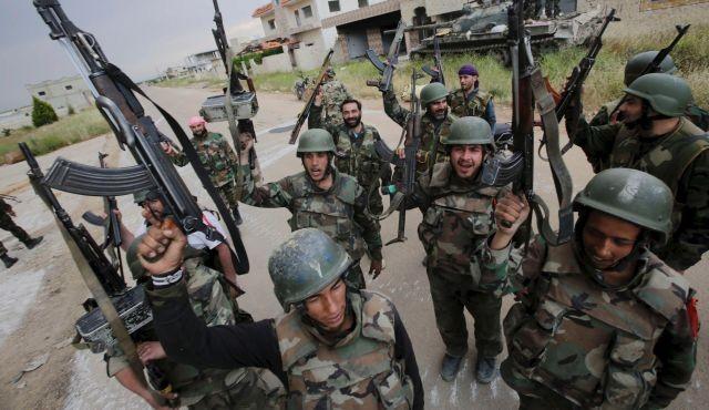 Quân đội Syria liên tiếp giành chiến thắng