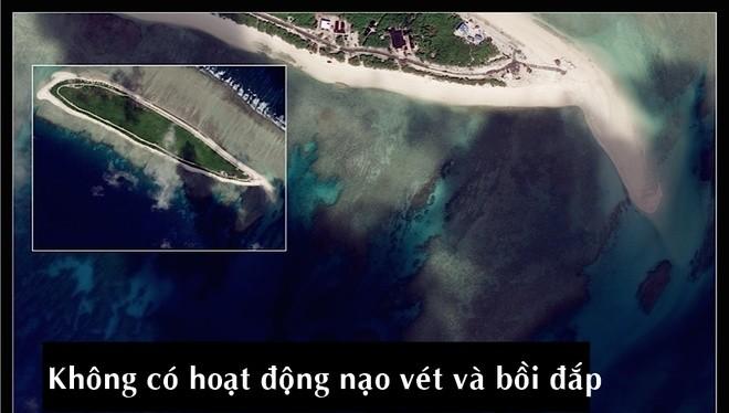 Hình ảnh vệ tinh cho thấy hoạt động nạo vét và bồi lấp phi pháp của Trung Quốc tại hai địa điểm mới ở Biển Đông, là đảo Bắc và đảo Cây, trong nhóm đảo An Vĩnh, quần đảo Hoàng Sa, thuộc chủ quyền Việt Nam. Hoạt động nạo vét gần đây nhất bắt đầu vào khoảng