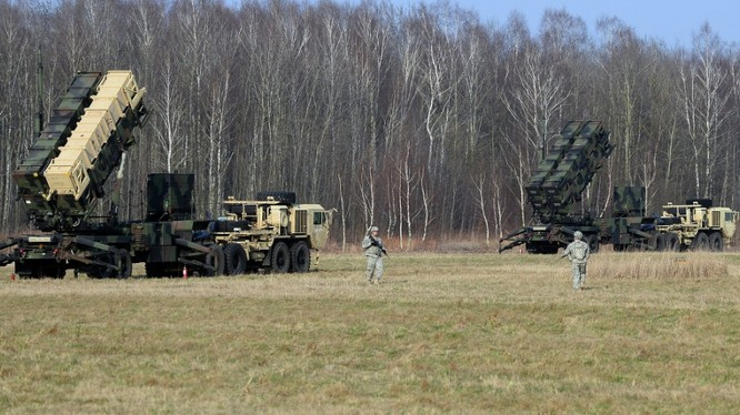 Hệ thống tên lửa Patriot NATO triển khai ở châu Âu