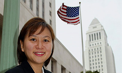 Nữ thẩm phán Jacqueline Nguyen. Ảnh: Diacritics