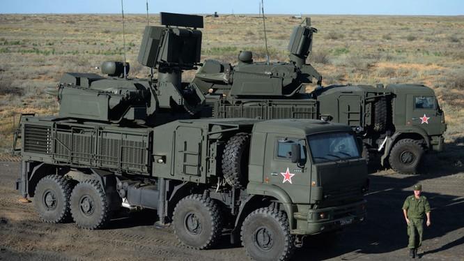 Hệ thống phòng không Pantsir của Nga