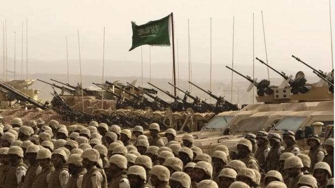 Quân đội Saudi Arabia đang tập trung binh lực sẵn sàng can thiệp vào Syria