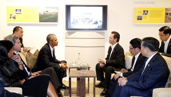 Cuộc hội kiến giữa hai nhà lãnh đạo vừa được diễn ra