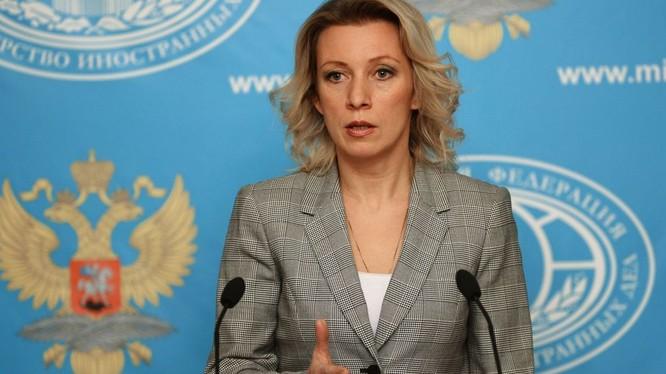 Đại diện Bộ Ngoại giao Nga Maria Zakharova