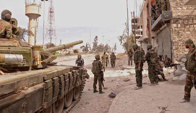 chiến sự đang diễn ra ác liệt ở Aleppo