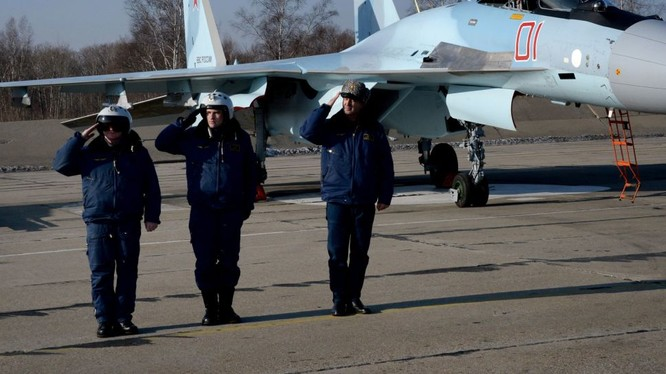 Siêu tiêm kích Su-35 Nga tham chiến tại Syria
