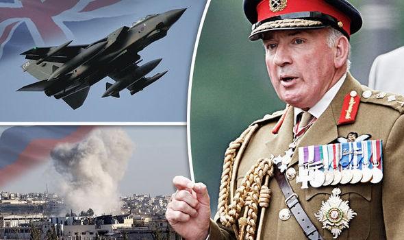 Cựu tổng tham mưu trưởng quân đội Anh Lord Dannatt