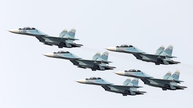 Phi đội Su-30SM của Nga