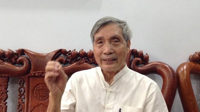 Chuẩn đô đốc Lê Kế Lâm - Ảnh: Tân Phú