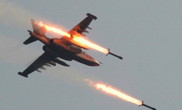 Máy bay cường kích Nga tấn công các mục tiêu khủng bố tại Syria