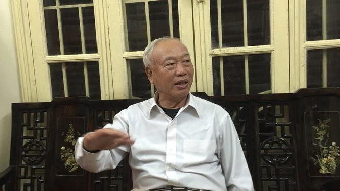 Nguyên Chủ tịch Quốc hội Nguyễn Văn An Ảnh: Đ.V.H