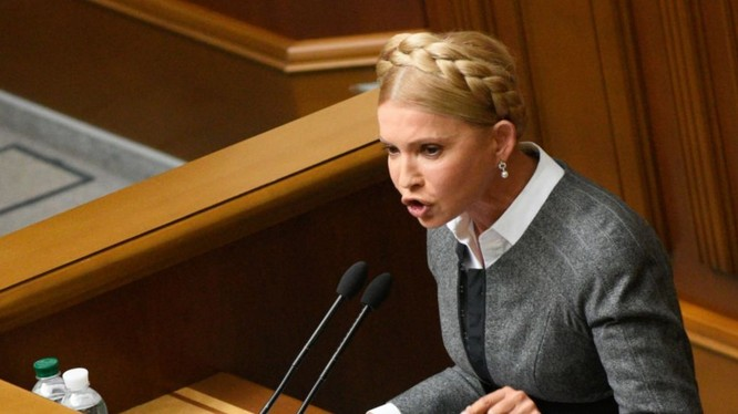 Nữ chính khách Yulia Tymoshenko