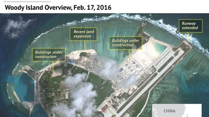Trung Quốc đang ráo riết quân sự hoá Biển Đông