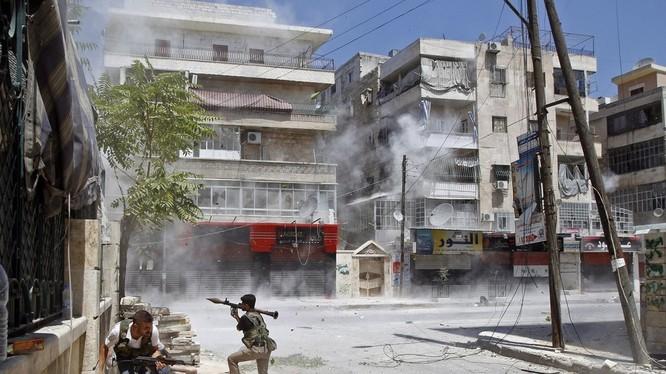 Chiến sự vẫn diễn ra bất chấp lệnh ngừng bắn vừa đạt được về Syria