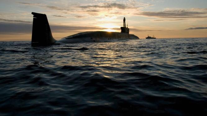 Tàu ngầm hạt nhân của hải quân Nga