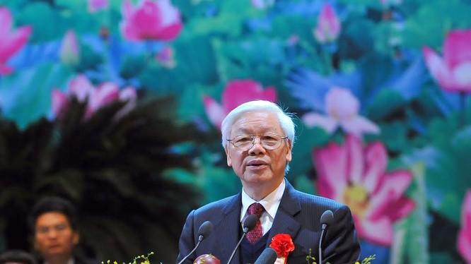Tổng Bí thư Nguyễn Phú Trọng tái đắc cử trong Đại hội XII