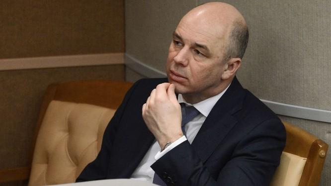 Bộ trưởng Tài chính Anton Siluanov