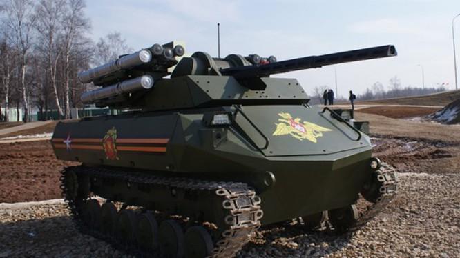 Xe tăng robot Uran-9 của Nga