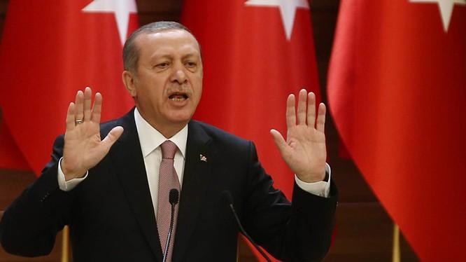 Erdogan chỉ muốn khôi phục lại đế chế Ottoman