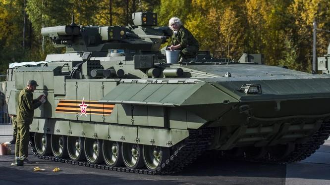 Nga đang thử nghiệm hàng chục xe chiến đấu trên nền tảng Armata
