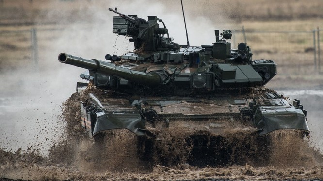Xe tăng T-90 của Nga đã tham chiến tại Syria