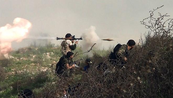 Chiến binh thuộc lực lượng phe đối lập Syria. (Ảnh: msnbc.com)