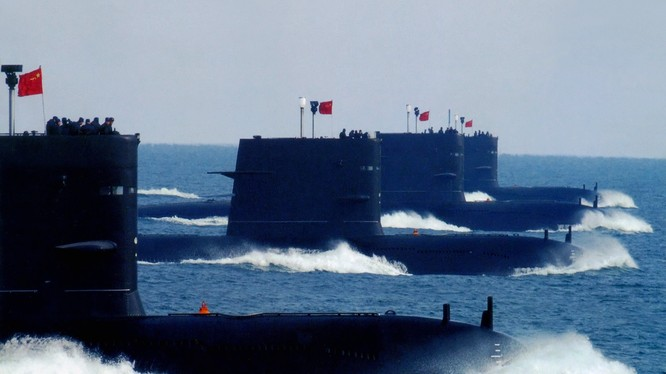 Tàu ngầm của hải quân Trung Quốc